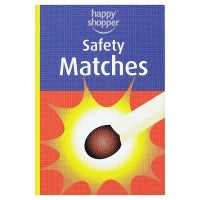 HAPPY SHOPPER SAFETY MATCHES