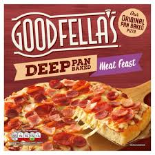 GOODFELLAS DEEP PAN MEAT FEAST, 415g