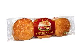 THE DELI BURGER BUNS, 6 pack