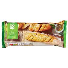 COOP GARLIC BAGUETTES, 2 pack