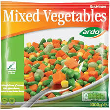 ARDO MIXED VEGETABLES, 1kg