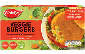BIRDS EYE VEGGIE BURGERS, 250g