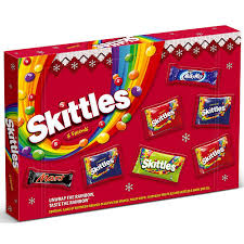 SKITTLES & FRIENDS SELECTION BOX, 150g