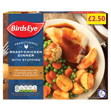 BIRDS EYE TRADITIONAL CHICKEN DINNER, 400g