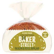 BAKER STREET SEEDED RYE BREAD, 500g