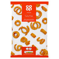 COOP CURLY FRIES, 750g
