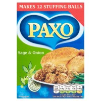 PAXO SAGE & ONION STUFFING MIX, 170g