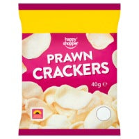 HAPPY SHOPPER PRAWN CRACKERS, 40g