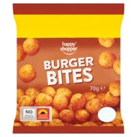 HAPPY SHOPPER BURGER BITES, 70g