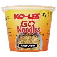 KO LEE NOODLES ROAST CHICKEN, 65g