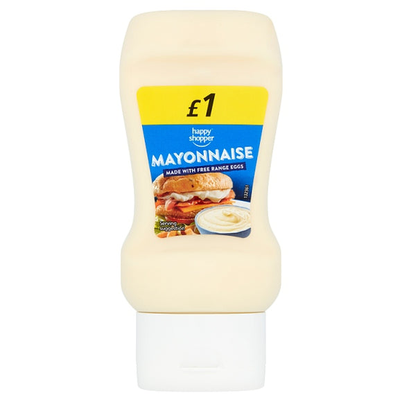 HAPPY SHOPPER SQUEEZY MAYONNAISE, 250ml