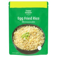 HAPPY SHOPPER MICROWAVABLE EGG FRIED RICE, 250g