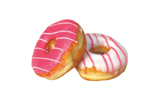 ISLANDS CHOICE ICED RING DOUGHNUTS, pack of 2