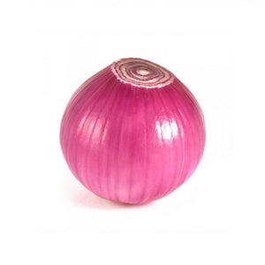 PEELED RED ONION, each