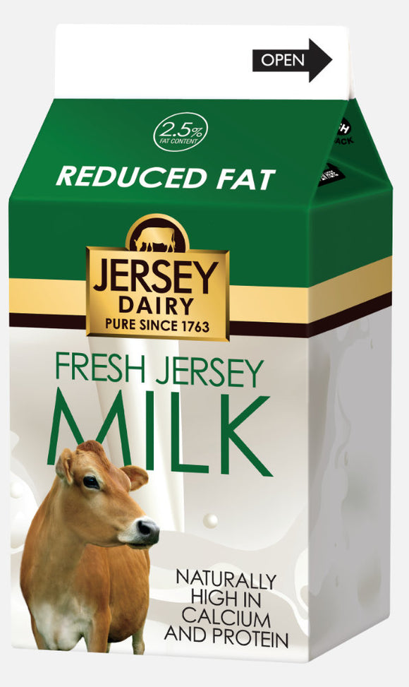 JERSEY DAIRY 2.5% FAT MILK, 500ml