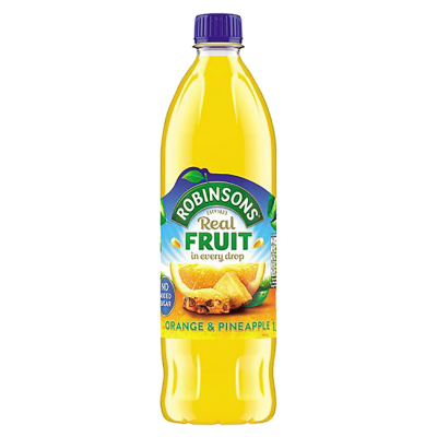 ROBINSONS ORANGE & PINEAPPLE, 1l