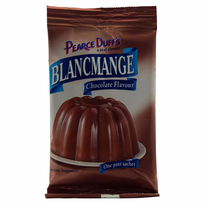 PEARCE & DUFF CHOCOLATE BLANCMANGE, 35g