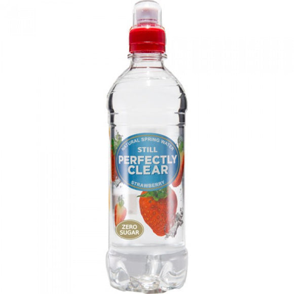 PERFECTLY CLEAR STRAWBERRY STILL WATER, 500ml