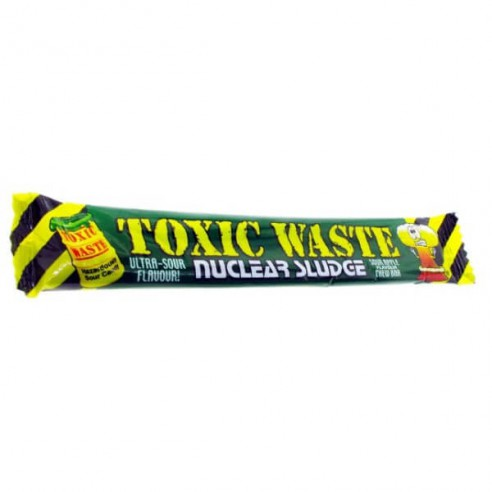 TOXIC WASTE SOUR APPLE CHEW BAR, 20g