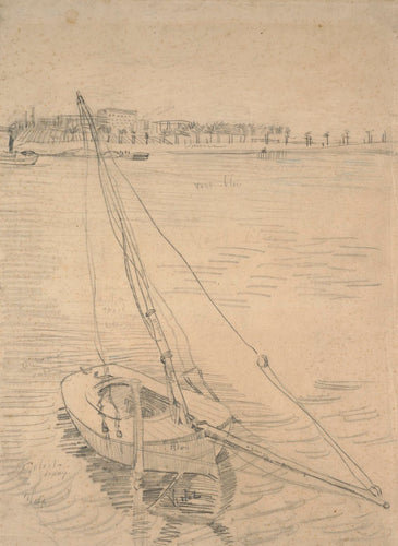 Sailing Boat on the Seine at Asnières -Van Gogh