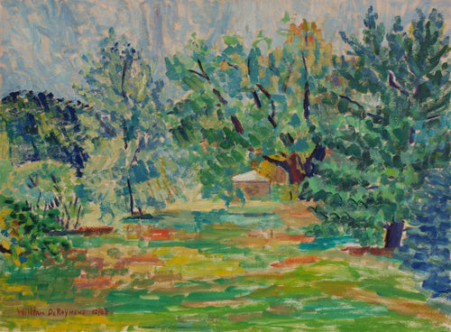 #pleinair #painting 'Tony's Backyard', 22
