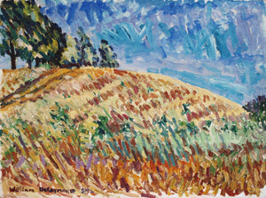 "north of Windsor, 22""x30"" #pleinair #painting  #fineart 1992"