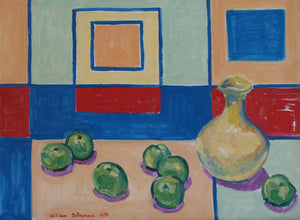 "Still Life #painting #art Composition, 22""x30"", 1991"