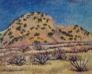 "at  #CochiseStronghold 24""x30"", #pleinair #painting"
