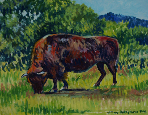 #fineart #painting  #Buffalo, 24