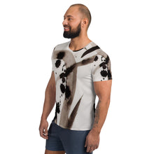 Load image into Gallery viewer, william deraymond #art  #painting detail of a composition #print on an All-Over Print Men's Athletic T-shirt