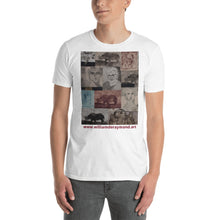 Load image into Gallery viewer, william deraymond #art with #printmaking #collage #print on a Short-Sleeve Unisex T-Shirt