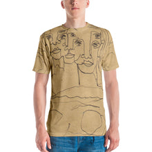 Load image into Gallery viewer, william deraymond #fineart #drawing #print on a Men's T-shirt