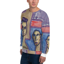 Load image into Gallery viewer, william deraymond #fineart #watercolor #painting detail #print #design o a Unisex Sweatshirt