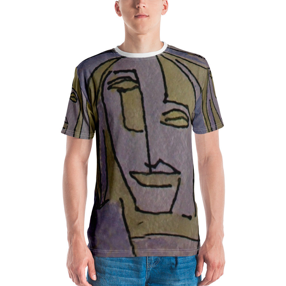 william deraymond #art #drawing #watercolor #painting detail #print on a Men's T-shirt