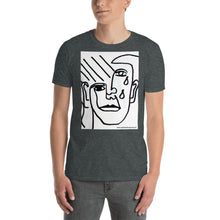 Load image into Gallery viewer, william deraymond #fineart #drawing #print on a Short-Sleeve Unisex T-Shirt