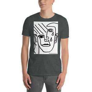 william deraymond #fineart #drawing #print on a Short-Sleeve Unisex T-Shirt