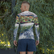 Load image into Gallery viewer, william deraymond #fineart #pleinair #painting detail #print on a Men's Rash Guard