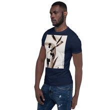 Load image into Gallery viewer, william deraymond #art detail of a #zen brush and ink #painting on a Short-Sleeve Unisex T-Shirt