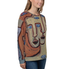 Load image into Gallery viewer, william deraymond #fineart detail of a  #painting #print on a Unisex Sweatshirt