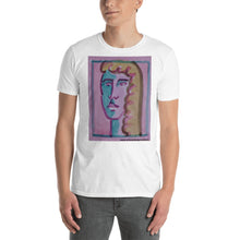 Load image into Gallery viewer, william deraymond #art #watercolor #painting detail #print on a Short-Sleeve Unisex T-Shirt
