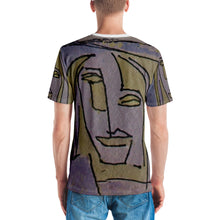 Load image into Gallery viewer, william deraymond #art #drawing #watercolor #painting detail #print on a Men's T-shirt