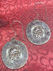 Lotus Silver Earrings(TGSE 42)