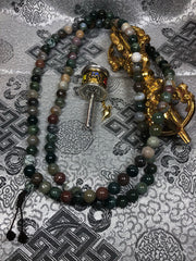 Agate Mala / Prayer Beads (TGMA 40 )