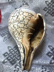 Conch Shell with Mani(TGCS 3)