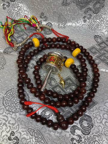 Rosewood Mala / Prayer Beads ( TGMA 45 )
