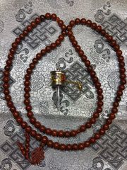 Lotus Seed Mala / Prayer Beads ( TGMA 46 )