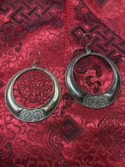Silver Round Earrings(TGSE 17)