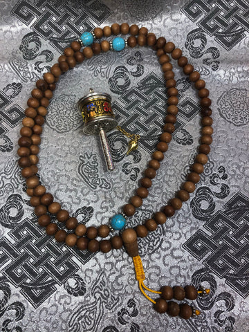 Sandalwood Mala / Prayer Beads ( TGMA 3 )