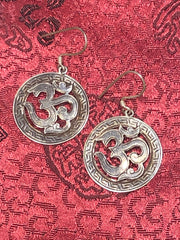 OM Silver Earrings(TGSE 96)
