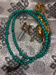 Turquoise Mala / Prayer Beads ( TGMA 19 )